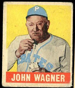 1948-49 Leaf #70 Pittsburgh Pirates Legend & HALL OF FAMER HONUS WAGNER