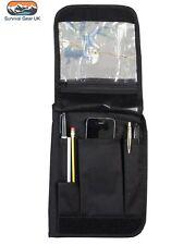 Kombat Black A5 Army Notebook Nirex orders folder holder FREE DELIVERY