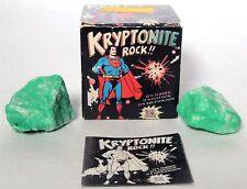 D640 Kryptonite Rock Glow in The Dark Pro Arts Box & Instructions 1977
