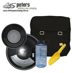 Gold Prospecting Deluxe Kit, gold panning kit prospecting gold pan, prospecting