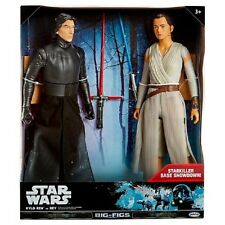 "Kylo Ren vs Rey 18"" Action Figure 2-Pack (Jakks Pacific) Unopened STAR WARS"