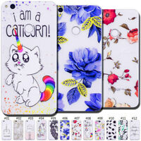 Painted Fashion TPU Case Back Clear Skin Rubber Soft Slim Cover For Huawei Phone