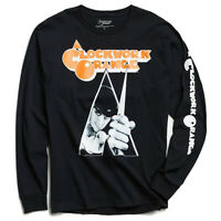 Clockwork Orange Movie Logo Longsleeve T-Shirt w/ Sleeve Print New Authentic