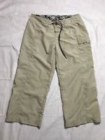The North Face Women's Size 10 Cargo Capri Pants Hiking Outdoors Quick Dry