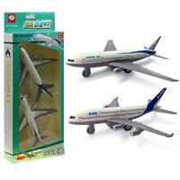 2 pcs Alloy Airplane Toys Aircraft Model Toys Birthday Present Christmas Gift