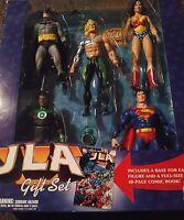 DC Direct Collectibles JLA Gift Set Batman Superman Green Lantern Hook Aquaman