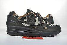 Nike Air Max 1 PENDLETON WOOL MILLS BLACK 825861-004 10.5 WINTER 90 WHEAT FORCE