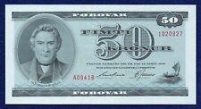 More details for faero islands, 1994 50 kronur banknote, unc (ref. b1115)