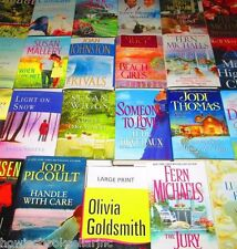 """""""LARGE PRINT"""" WOMEN'S FICTION BOOK LOT-HARDCOVER/SOFTCOVER - FREE SHIPPING"""