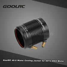 GoolRc Aluminum 40-S Water Cooling Jacket Cover for 4074 Rc Boat Motor N0K1