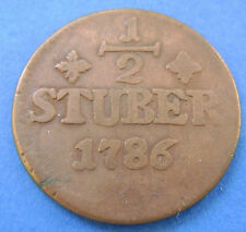Deutsches Reich Jülich-Berg 1/2 stuber 1786 PR. KM#206