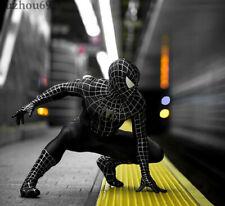 The Amazing 3 Spiderman Black Venom Tights Cosplay Costume Lycra Zentai suit