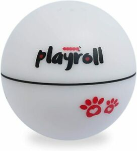 Playroll! Robotic Self Spinning Ball toy for Cats and Dogs