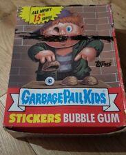 Garbage Pail Kids US Series 15 Empty Box