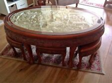 More details for antique chinese table and stools
