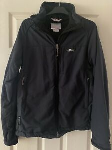 Womens Rab Vapour Rise Jacket Size 14 Pertex Equilibrium Removable Hood