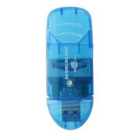 Lecteur de Carte SD HC Bleu Format Cle USB R5N4