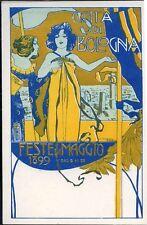 1899 Bologna - Feste di Maggio - firmata Dudovich