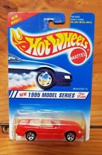 Hot Wheels 1995 MODEL SERIES #2/12 MERCEDES SL RED & RED 13610 (A+/B)