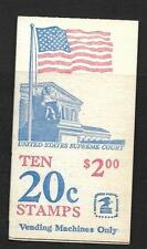 USA, 1982, Bandiera, SG sb114 / BK 140, libretto, MNH unopened.cat 8 GBP