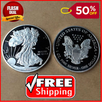 2000 1 oz Silver American Eagle Coin,Mirror effect FREE SHIPPING