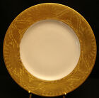 Gold Encrusted Floral&leaf Band by Hutschenreuther DINNER PLATE 10 3/4