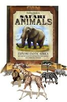 Field Guide to Safari Animals Explore Exotic Africa Pop Up Book by Paul Beck New