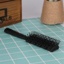 Detangling Vented Drying Lotus Small plastic Vent Hair Brush Comb - Anti-Static