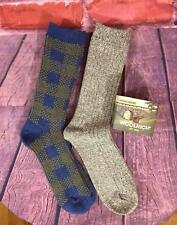 Woolrich Merino Wool Sock LARGE MEN WOMEN HIKING OUTDOOR SOCKS 2 PACK
