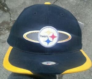 Vintage NFL Proline Nike Pittsburgh Steelers hat NWT NEW WITH TAGS NOS BLACK