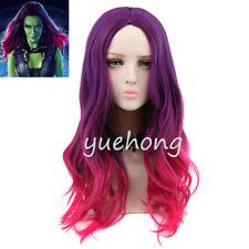 Guardians Of The Galaxy Gamora Wig Anime Wig Women's Wavy Purple Pink Wig