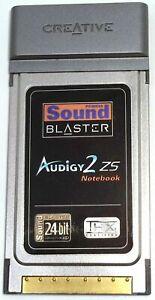 CREATIVE PCMCIA SOUND BLASTER AUDIGY2 ZS NOTEBOOK SOUND CARD MODEL SB0530