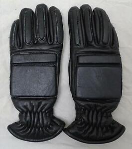 New MLA LTD MS320 Black Leather PPE Riot Gear Public Order Gloves GLV14N