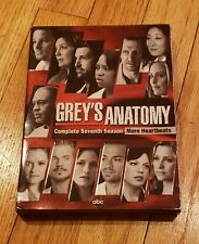 Grey's Anatomy Season 7 DVD- More Heartbeats