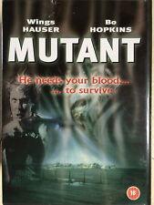 Wings Hauser Bo Hopkins MUTANT AKA Night Shadows ~1984 CULT HORROR UK DVD