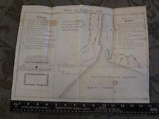 1727 Oswego New York Lake Ontario Frontenac Canada 1849 Map
