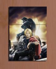 Fullmetal Alchemist Edward Elric Alphonse Elric Japanese Anime mini poster