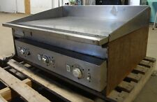 """"""" KEATING """" HEAVY DUTY COMMERCIAL STAINLESS STEEL 36"""" ELECTRIC FLAT-TOP/GRIDDLE"""