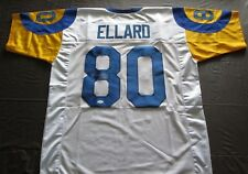 RARE HENRY ELLARD AUTOGRAPH SIGNED JERSEY WITH COA JSA LOS ANGELES RAMS