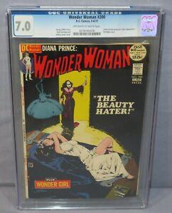 WONDER WOMAN #200 (Bondage Cover) CGC 7.0 FN/VF DC Comics 1972