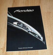 Ford Mondeo Brochure 1993 - 1.6 1.8 16v 1.8 TD 2.0 SI Ghia  LX GLX