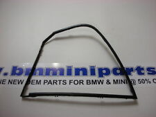 BMW E46 Saloon Rear Right Door Fixed Window Frame Black 51348194694