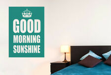 Good Morning Sunshine Vinilo Pegatinas De Pared Adhesivo Decoración