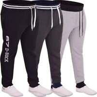 Mens D Rock Fashion Jogging Bottoms Jogger Casual Fleece Tracksuit Jog Pants