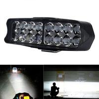 16 LED Motorrad Wasserdichte Scheinwerfer Nebelscheinwerfer Scheinwerfer 7000K N