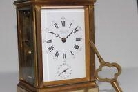 Henry Capt of Geneve, Repeater • Striker • Alarm Carriage Clock, ca. 1890