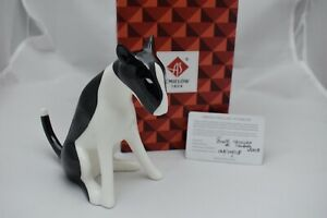 Cmielow Bull Terrier Porcelain Figurine. Boxed with Certificate