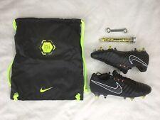 Nike tiempo legend 7 elite SG-pro ac, negro/naranja, galerías