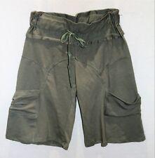 FILO Brand Women's Khaki Knit Cargo Casual Shorts Size 10 BNWT #TI101