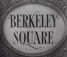 BERKELEY SQUARE (1933) DVD LESLIE HOWARD, HEATHER ANGEL